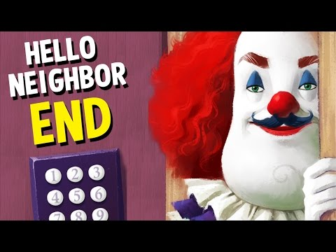 Hello Neighbor Horror Game ENDING - WE FOUND THE SECRET