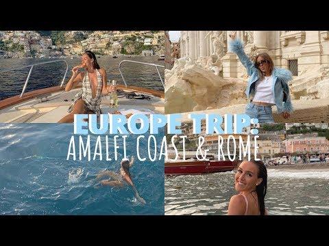EUROPE TRIP EP. 3: AMALFI COAST + ROME! | Emma Rose