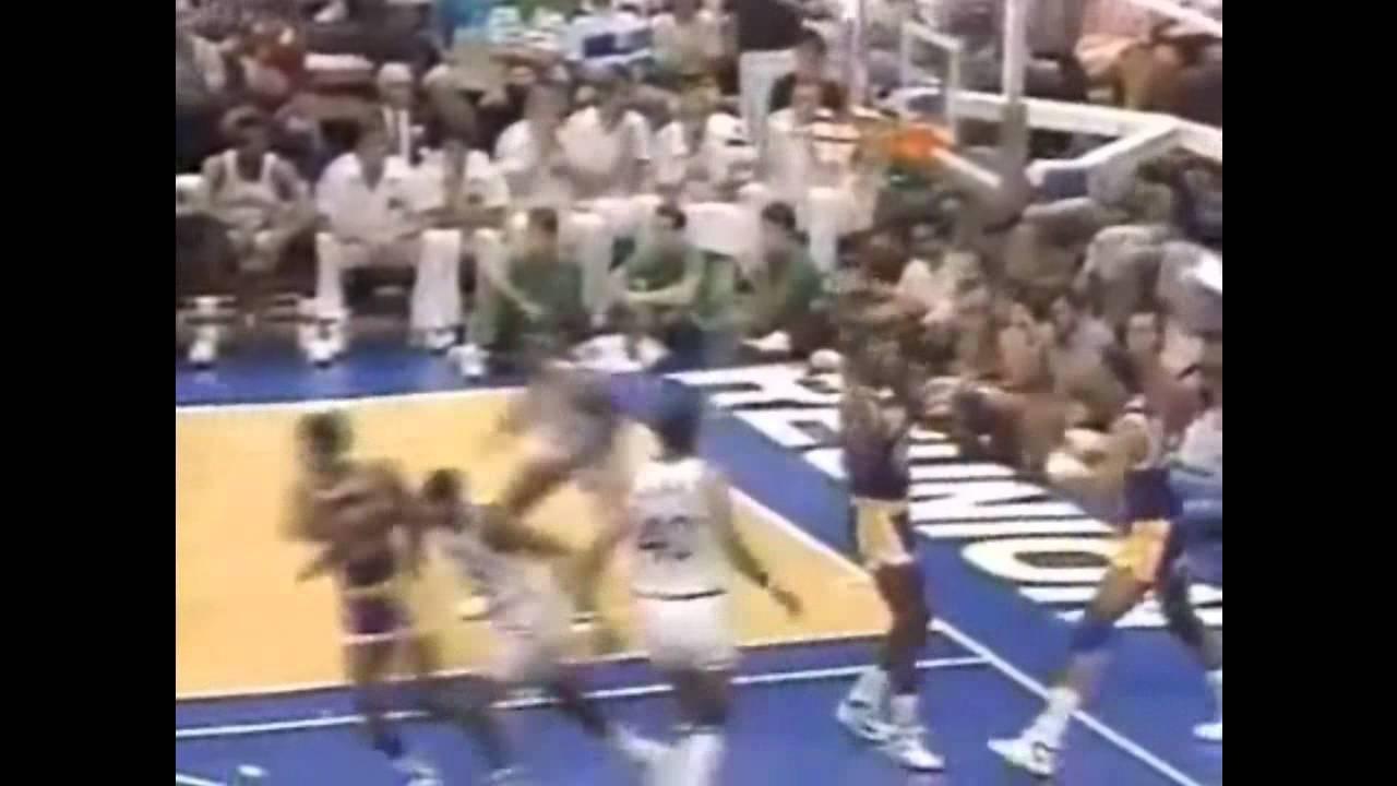 Derek Harper vs Lakers 1988 Game 4 WCF 35 points
