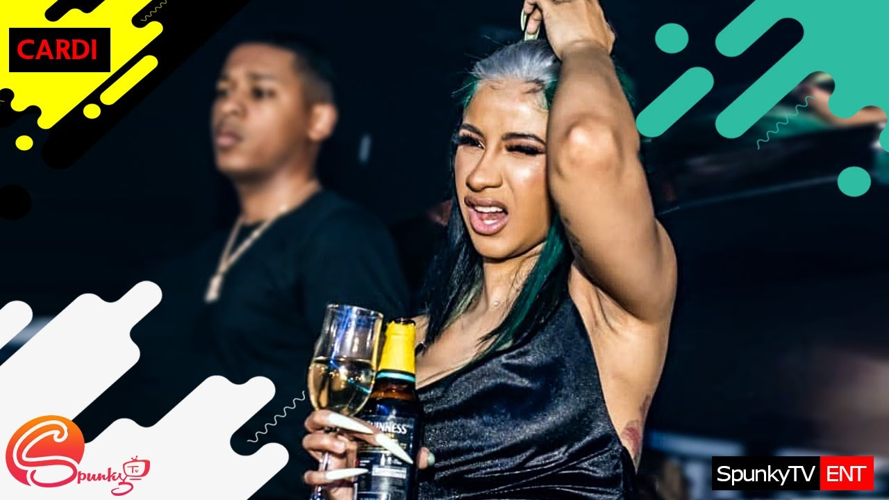 Download Cardi b in Lagos: Nigeria Beer is too Strong i took just one bottle of Guiness and it Knocked me off