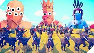 История о ВОБЛЕРЕ ФЕРМЕРЕ! - Кочевники напали на ферму. Эпические битвы