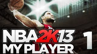 NBA 2K13 - My Player Career - Part 1 - Rookie Showcase (Gameplay & Commentary)