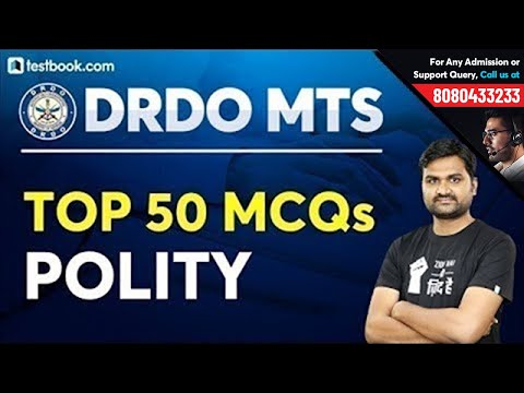 Top 50 MCQs on Polity for DRDO MTS 2020 | DRDO MTS GK Questions and Answers | GS by Pankaj Sir