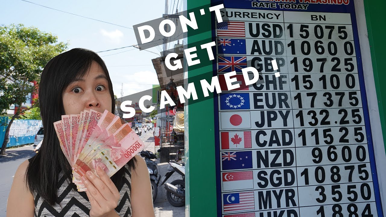 Tips On Exchanging Your Money In Bali