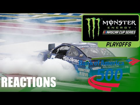 2017 MENCS Bank of America 500 Reactions