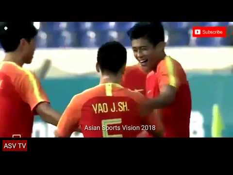 Asian Games 2018 : Men's Football - China (6) vs (0) East Timor ● Goals Highlights