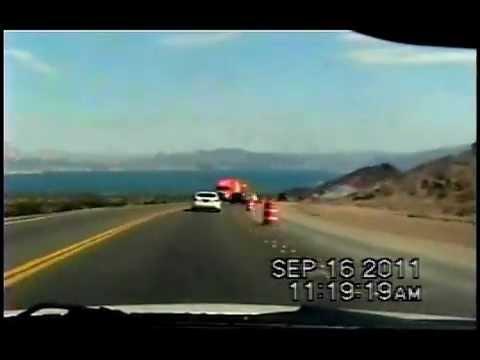 Las Vegas NV to Kingman AZ Time Lapse Drive.GREAT!