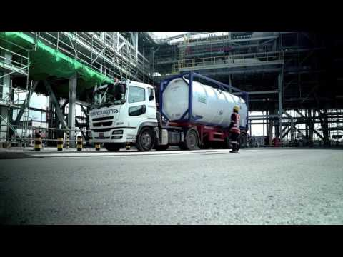Singapore's First LNG Truck Loading Facility