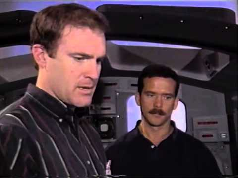 STS-74 Crew Training, Part B: Mir Undocking (1995)