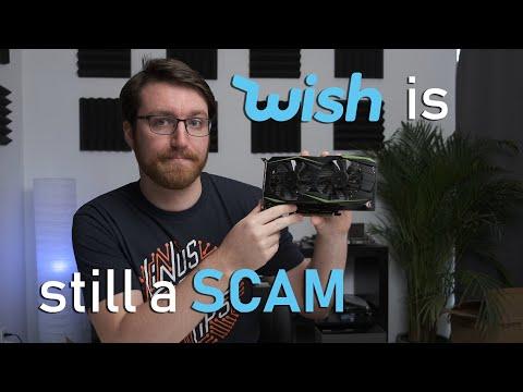I bought a $48 GTX 1050 Ti on Wish.com