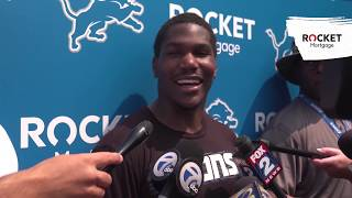 "Kerryon Johnson on offense: ""It's exciting"" 
