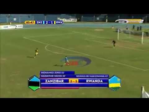 Magoli Ya ZANZIBAR VS RWANDA..