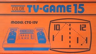 Color TV-Game 15 - Nintendo's 1st generation console