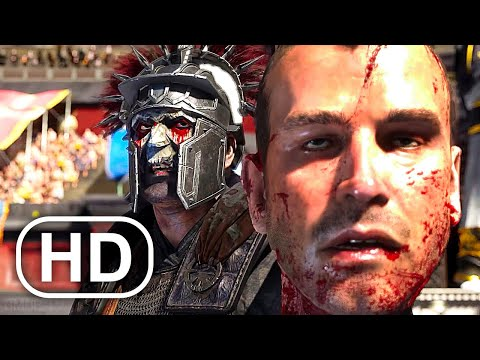 Gladiator Damocles Kills The Emperors Son In Colosseum Scene 4K - Ryse Son Of Rome Cinematics Movie |
