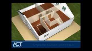 видео Технологии строительства складов и быстровозводимых зданий