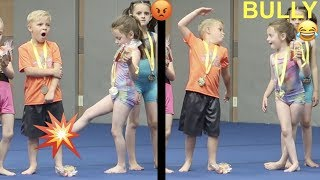 Kid BULLY at Gymnastics Competition