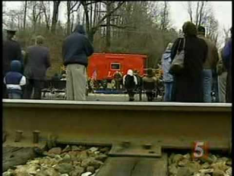 Humphreys County Tennessee WAVERLY DISASTER  News Footage From Nashville Stations in 2003