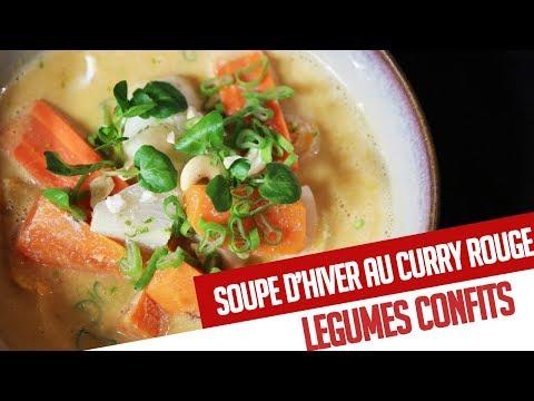 soupe-d'hiver-au-curry-&-lÉgumes-confits---recette-chef-valentin
