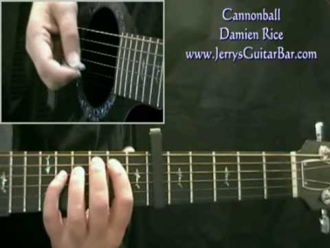How To Play Damien Rice Cannonball (intro only)