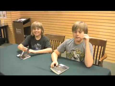Dylan & Cole Sprouse - 47 R.O.N.I.N Book Signing