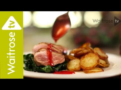 Dhruv Baker's Duck Breasts With Spiced Plum Sauce | Waitrose