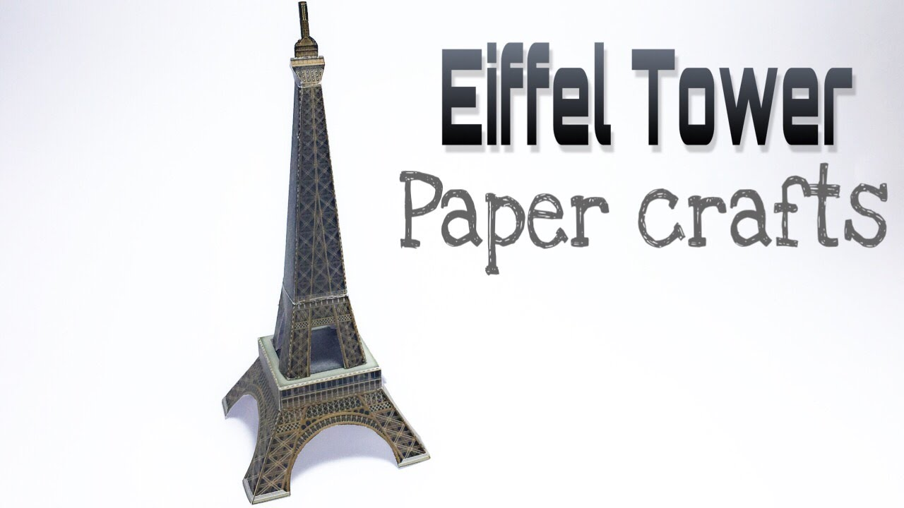 image relating to Eiffel Tower Printable called Eiffel Tower Paper Crafts guide !