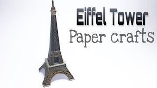Eiffel Tower Paper Crafts tutorial !