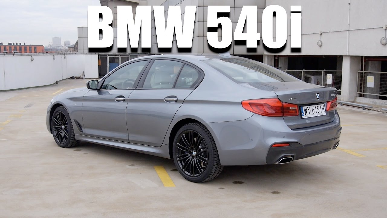 bmw 5 series 540i g30 eng test drive and review youtube. Black Bedroom Furniture Sets. Home Design Ideas
