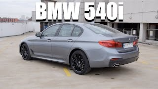 BMW 5 Series 540i G30 (ENG) - Test Drive and Review