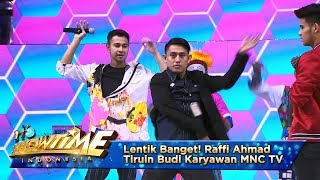 Lentik Banget! Raffi Ahmad Tiruin Tarian Ala Budi Karyawan MNC TV - It's Show Time Eps 10