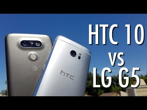 HTC 10 vs LG G5: Smartphone role reversal? | Pocketnow