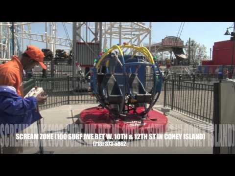 Sling Shot Scream Zone Coney Island