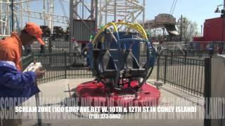 Sling Shot Scream Zone Coney Island