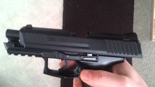 H&K P30 Softair Pistole ab 14 Jahren part 1
