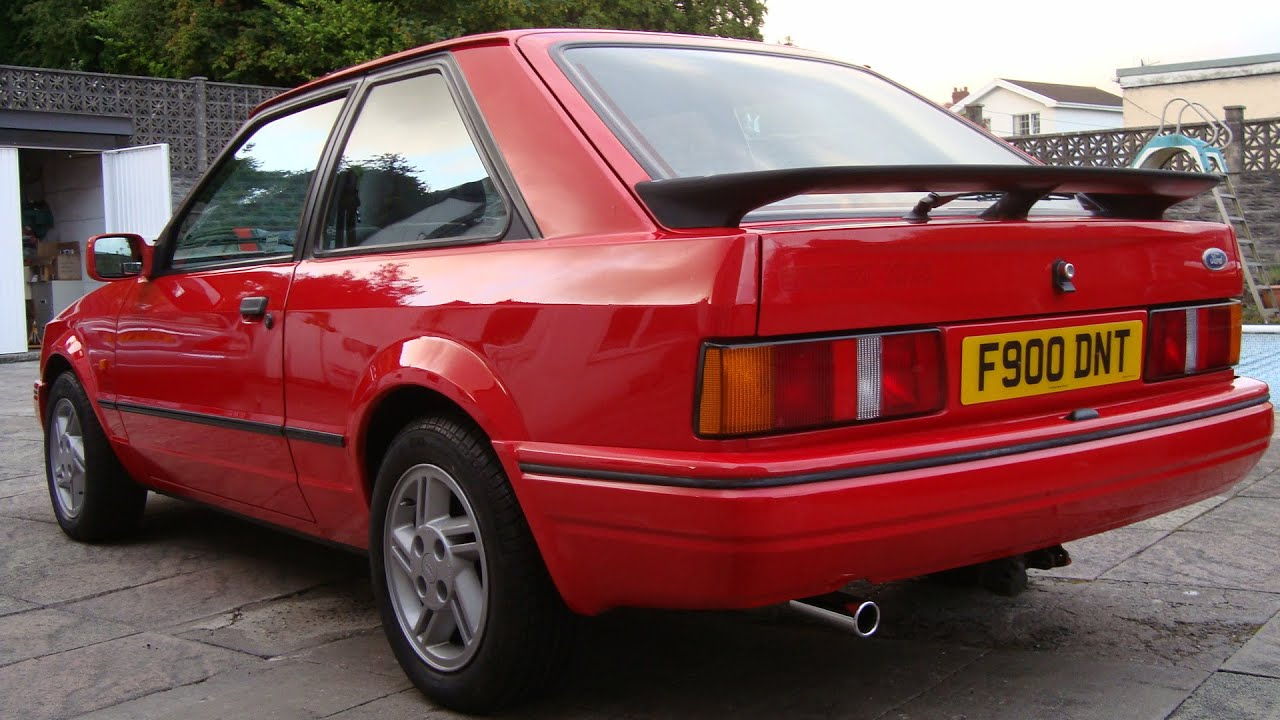 For Sale Superb Classics Stunning 1989 Xr3i With Low Miles