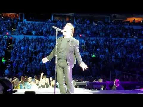 U2 - Bad - Lucas Oil Stadium, Indianapolis, IN, Sept. 10th 2017