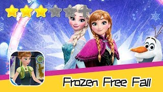Frozen Free Fall - Disney - Walkthrough Triple Elimination Recommend index three stars