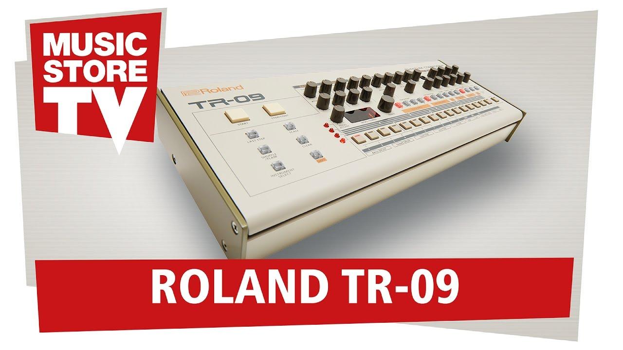 roland tr 09 drumcomputer test review sound demo deutsch youtube. Black Bedroom Furniture Sets. Home Design Ideas
