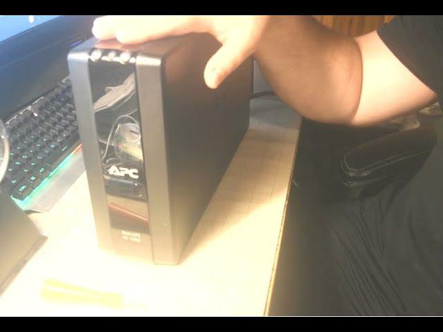 DIY - APC Back-UPS XS1000 - Battery Replacement