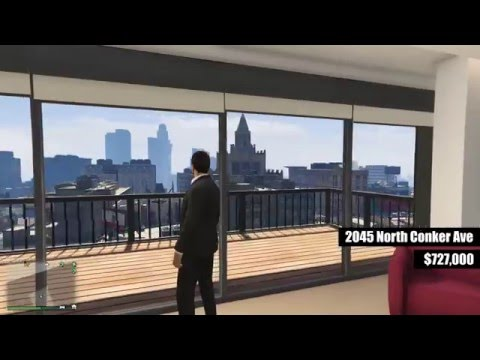 GTA V Online: ALL STILT APARTMENT INTERIORS AND VIEWS [Executives And Other Criminals Update]