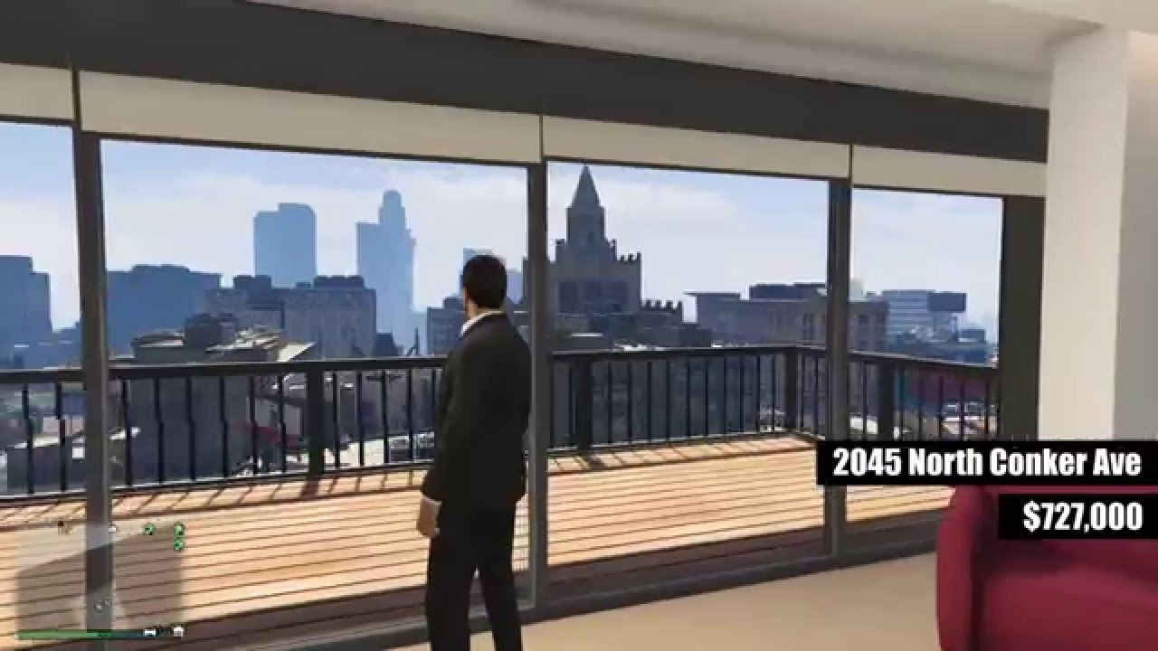 Gta V Online All Stilt Apartment Interiors And Views