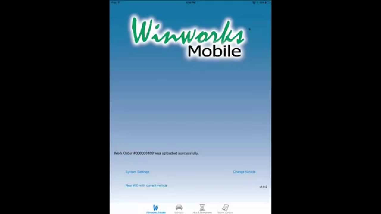 Winworks Mobile- A Mobile Application For Auto Repair Shops