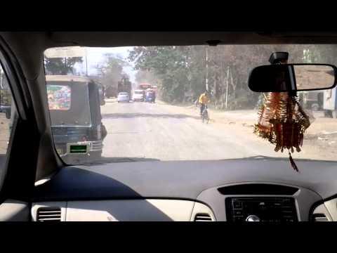 Die Fahrt Kolkata   Jamshedpur, Indien 03,02 2012 2