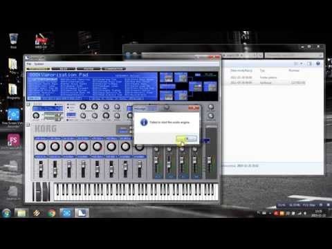 How to use KORG Legacy Collection using PC keyboard / How to play piano with PC keyboard