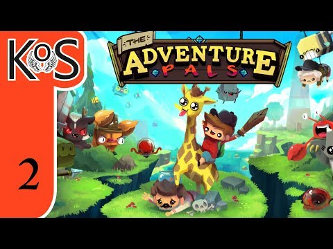 Adventure Pals Ep 2: MALE MAN - First Look - Let's Play, Gameplay