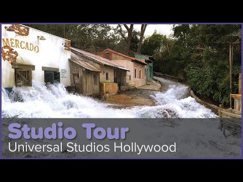 The World-Famous Studio Tour, 4K, 2020 | Universal Studios Hollywood