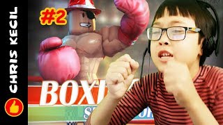 I THINK THESE GUYS TAKE STEROIDS!!! | Roblox Boxing Simulator 2 #2 played by Chris
