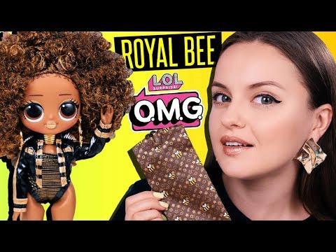 БЕЙОНСЕ?😱 Золотая пчелка LOL Surprise OMG Royal Bee | Обзор и распаковка