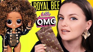 БЕЙОНСЕ?😱 Золотая пчелка LOL Surprise OMG Royal Bee   Обзор и распаковка