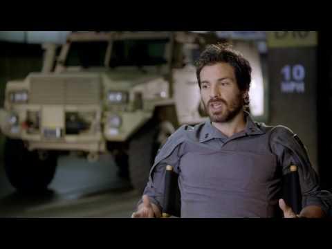 Transformers  The Last Knight   On set visit with Santiago Cabrera 'Santos' cut